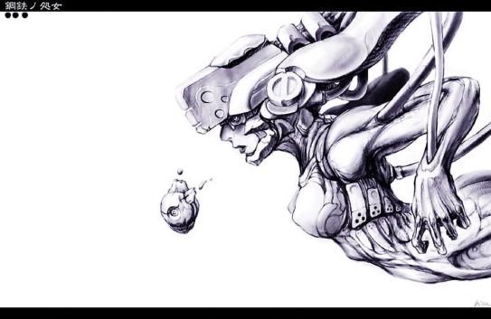 Iron Maiden by kometani