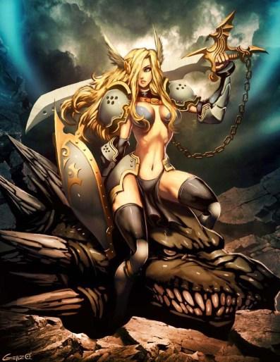 War Gods Dragon Slayer by genzoman