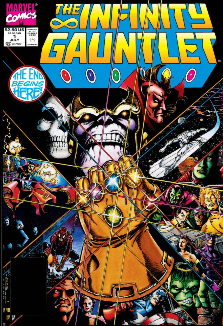 07-1991 07 - Infinity Gauntlet Vol 1 #001