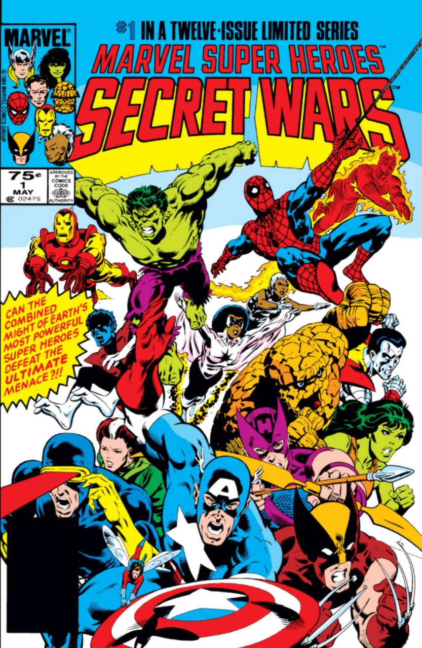 11-1984 05 - Marvel Super Heroes Secret Wars Vol 1 #001