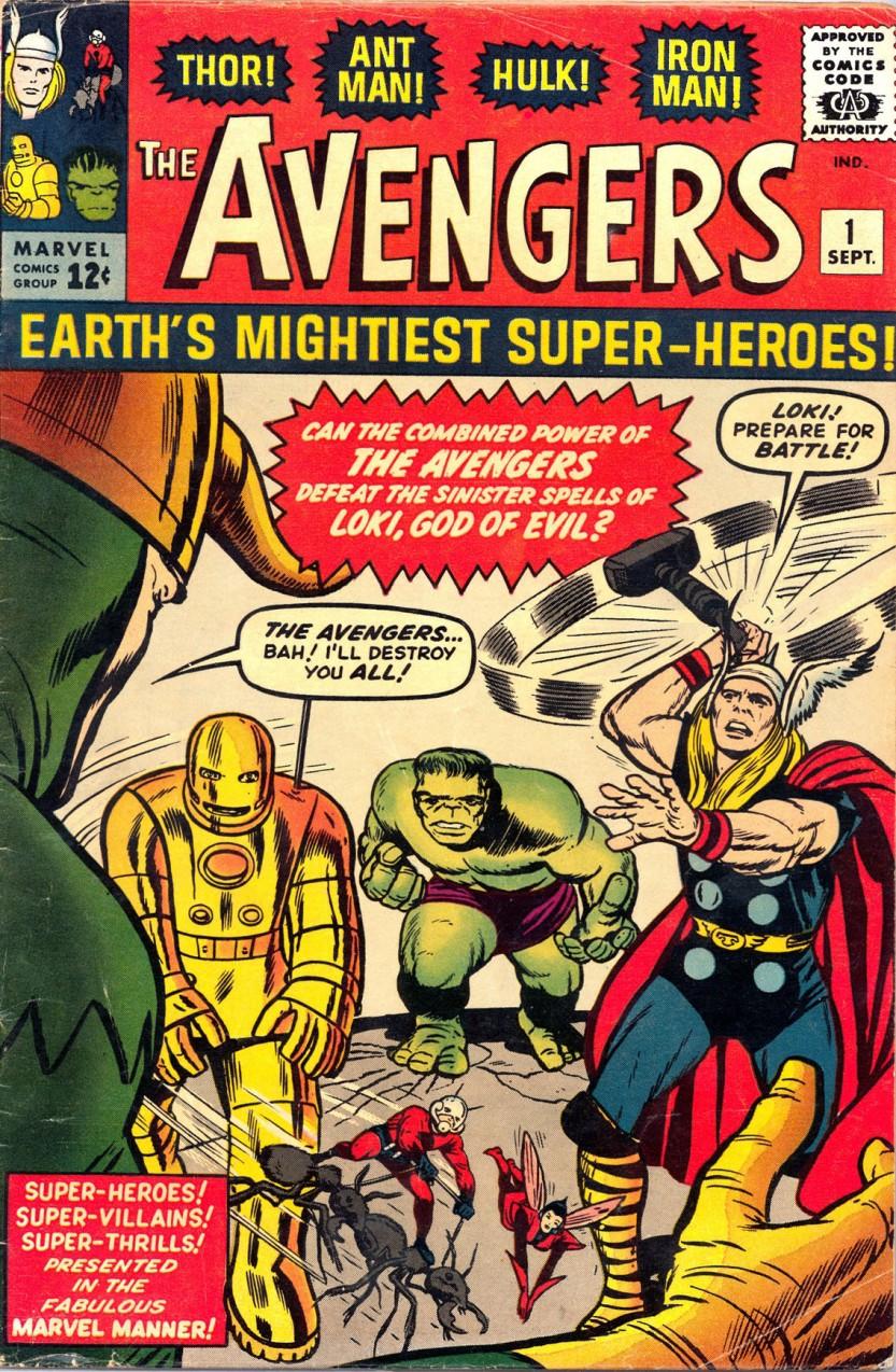 12-1963 09 - Avengers Vol 1 #001