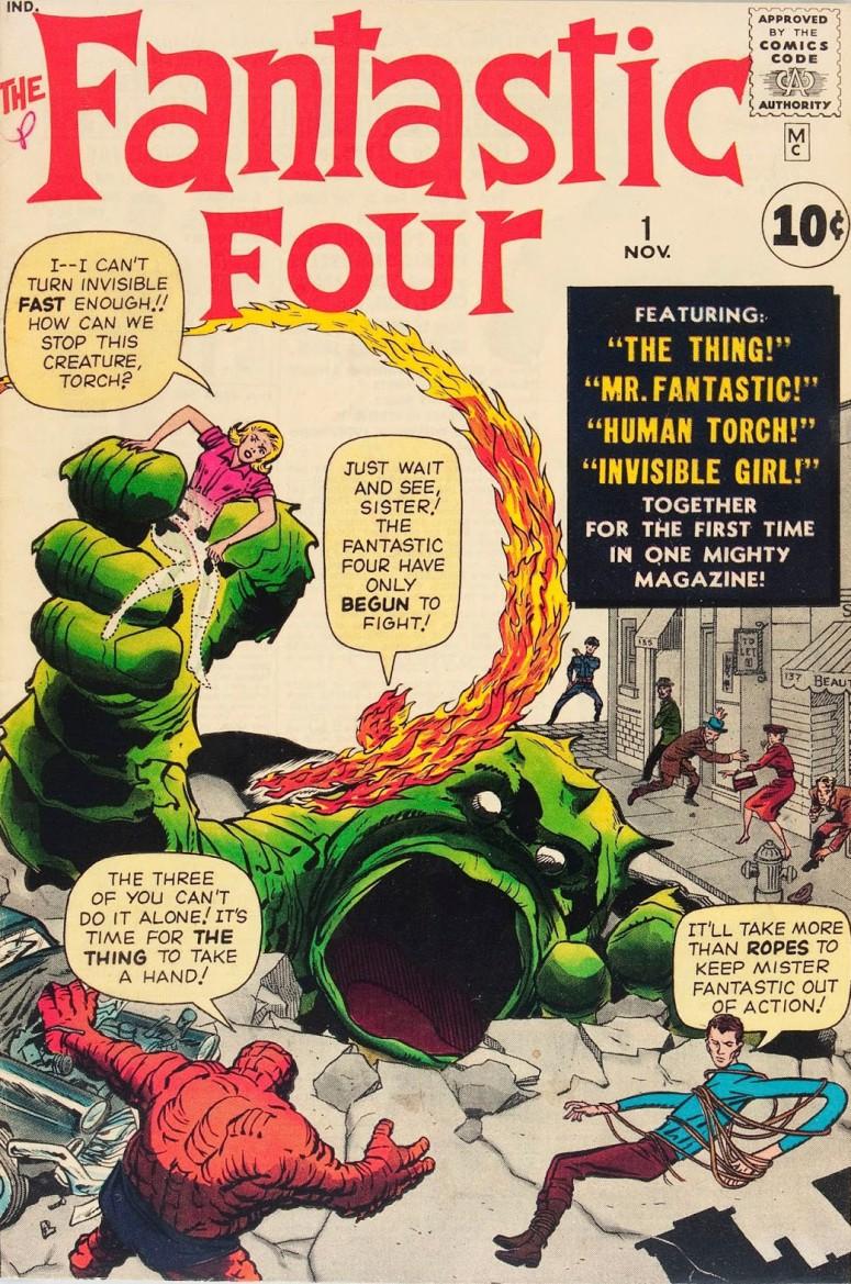 14-1961 11 - Fantastic Four Vol 1 #001