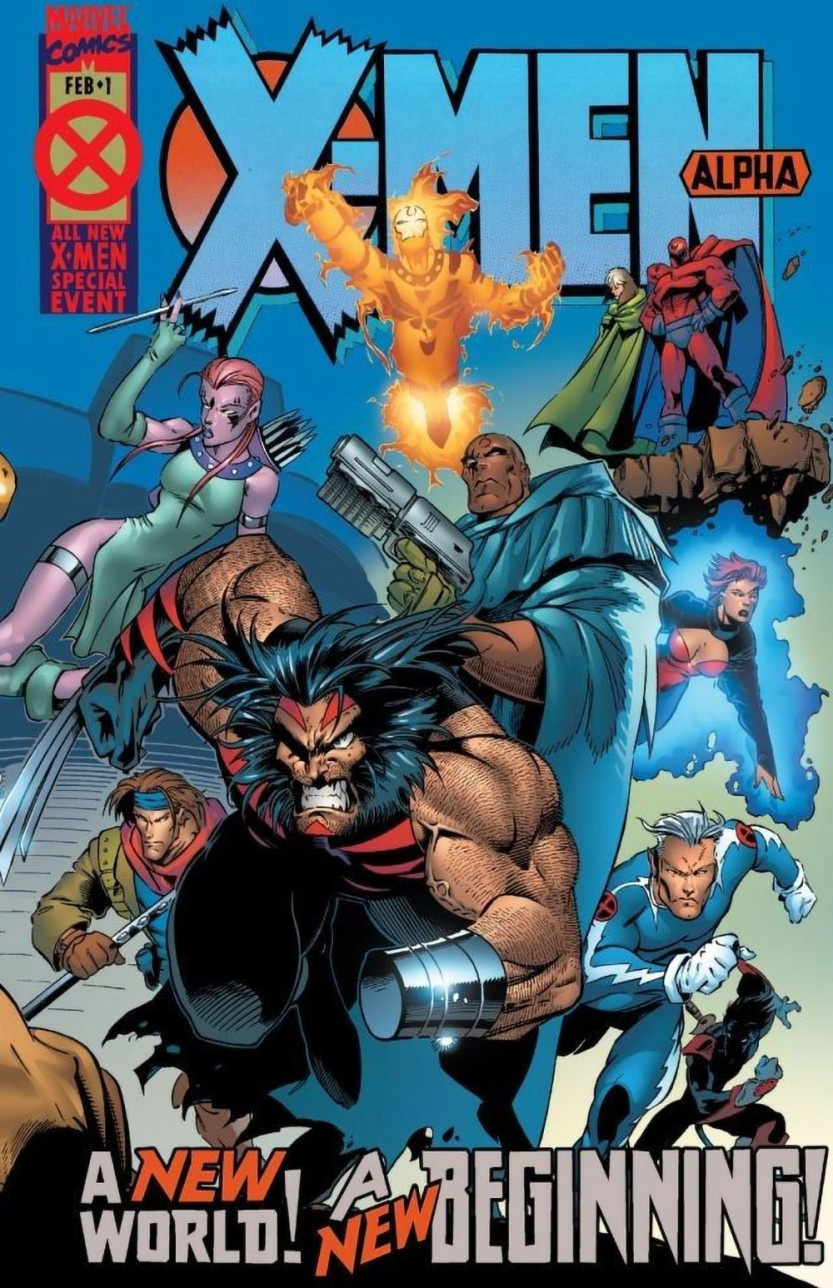 22-1995 02 - X-Men Alpha Vol 1 #001