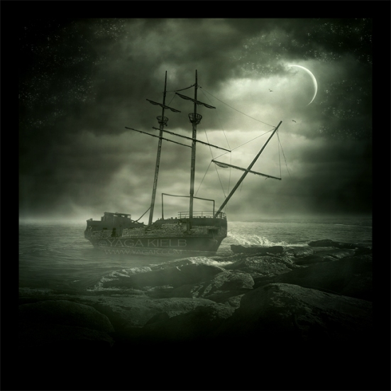 The_ghost_ship_by_YagaK