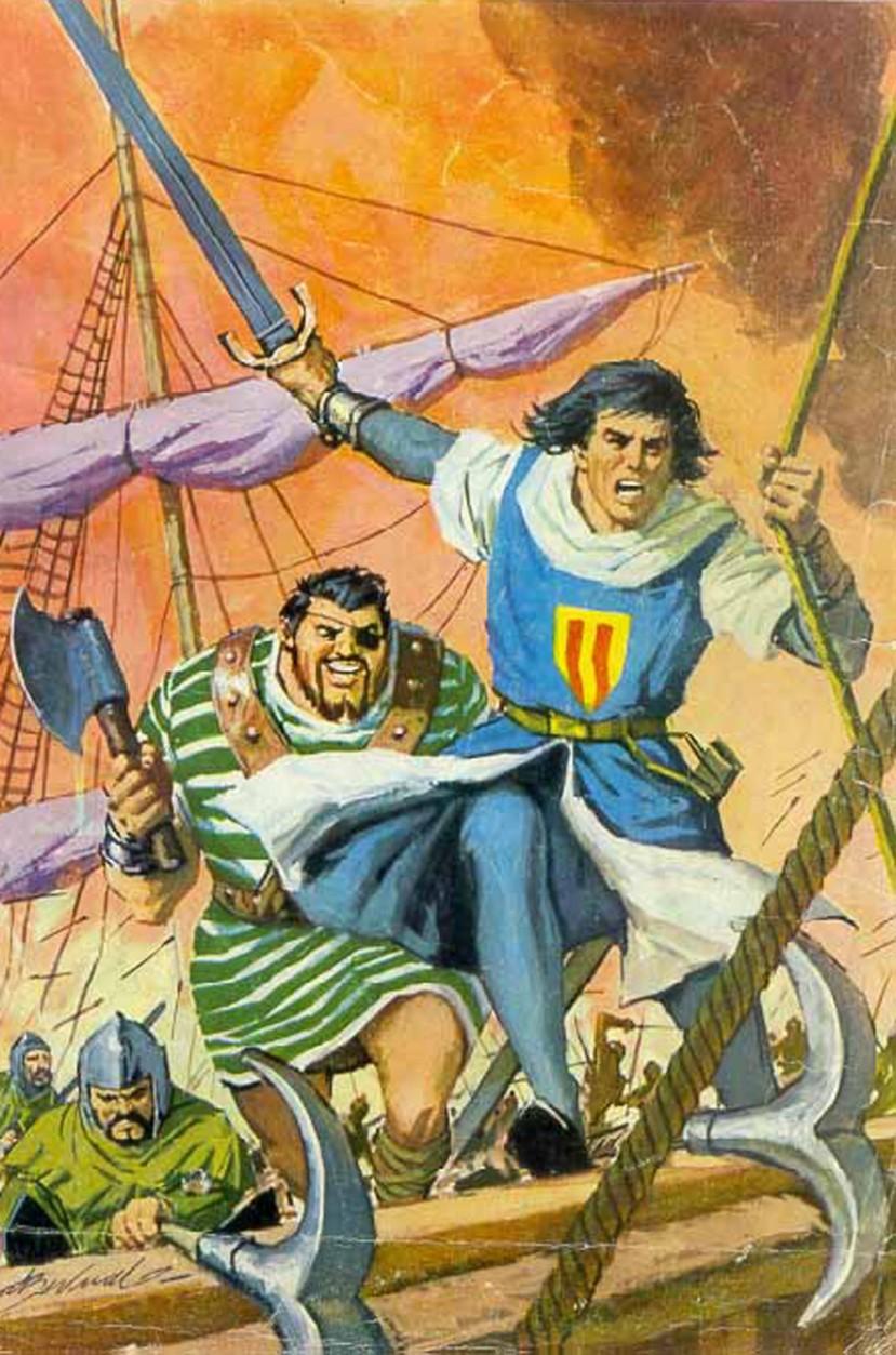 El Capitán Trueno por Antonio Bernal-01