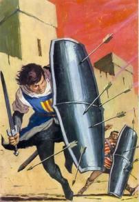 El Capitán Trueno por Antonio Bernal-02
