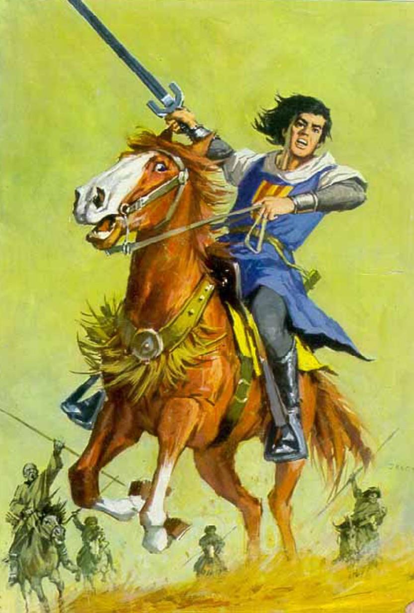 El Capitán Trueno por Antonio Bernal-03