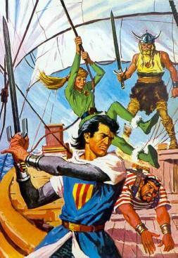 El Capitán Trueno por Antonio Bernal-07