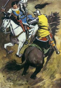 El Capitán Trueno por Antonio Bernal-10