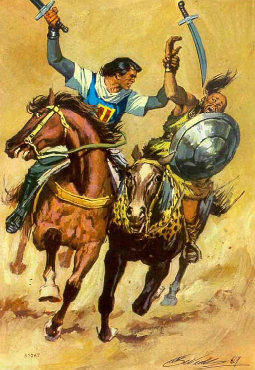 El Capitán Trueno por Antonio Bernal-12