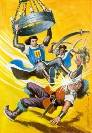 El Capitán Trueno por Antonio Bernal-29