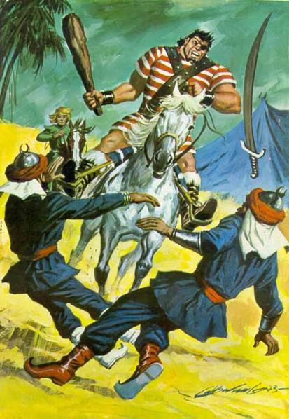 El Capitán Trueno por Antonio Bernal-30