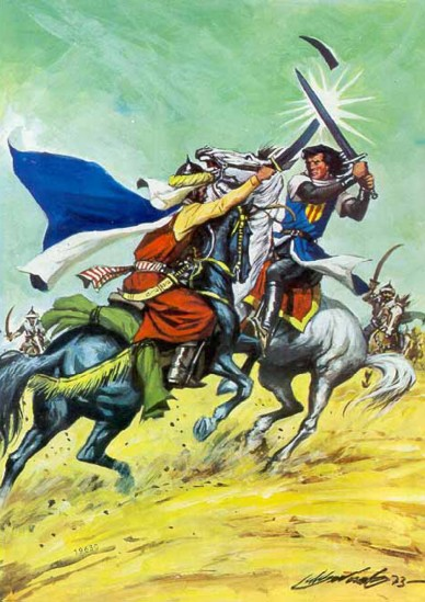 El Capitán Trueno por Antonio Bernal-32