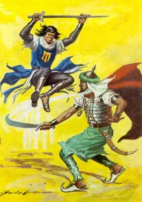 El Capitán Trueno por Antonio Bernal-33