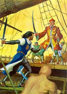 El Capitán Trueno por Antonio Bernal-35