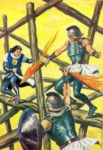 El Capitán Trueno por Antonio Bernal-41