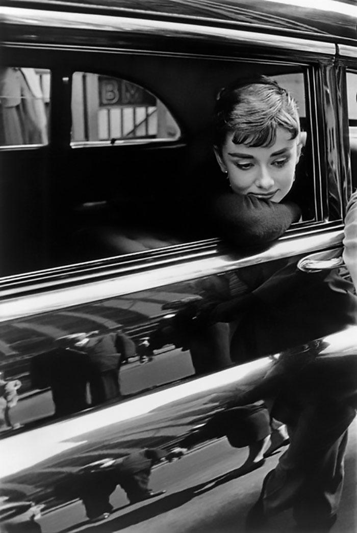 Audrey Hepburn, 1954, Dennis Stock