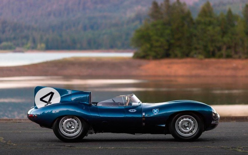 Jaguar D-Type de 1955