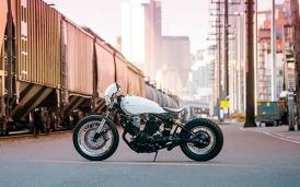 Yamaha XV920 custom de Blank Slate Cycles-003