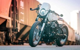 Yamaha XV920 custom de Blank Slate Cycles-004