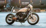 Yamaha XV920 custom de Blank Slate Cycles-006