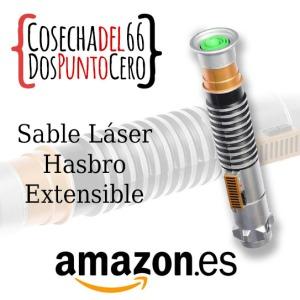 anuncio amazon sable laser