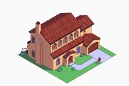 La casa de los Simpson estilo mediterraneo (eso dicen)
