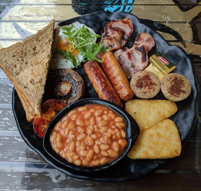 desayuno irlandés