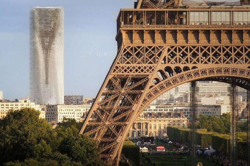 Rascacielo Espejo en París