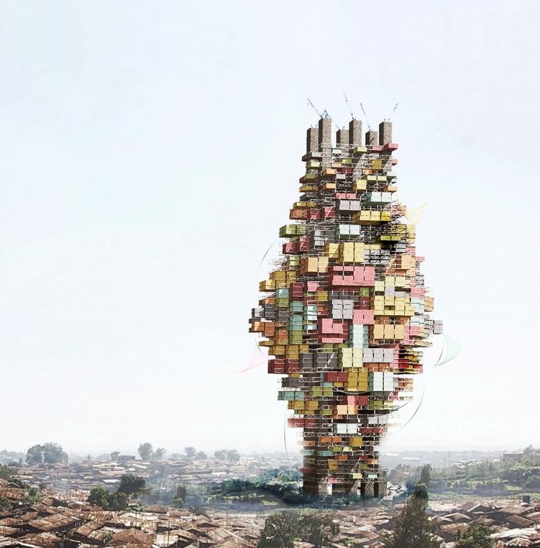 Torre modular para Dar es Salaam