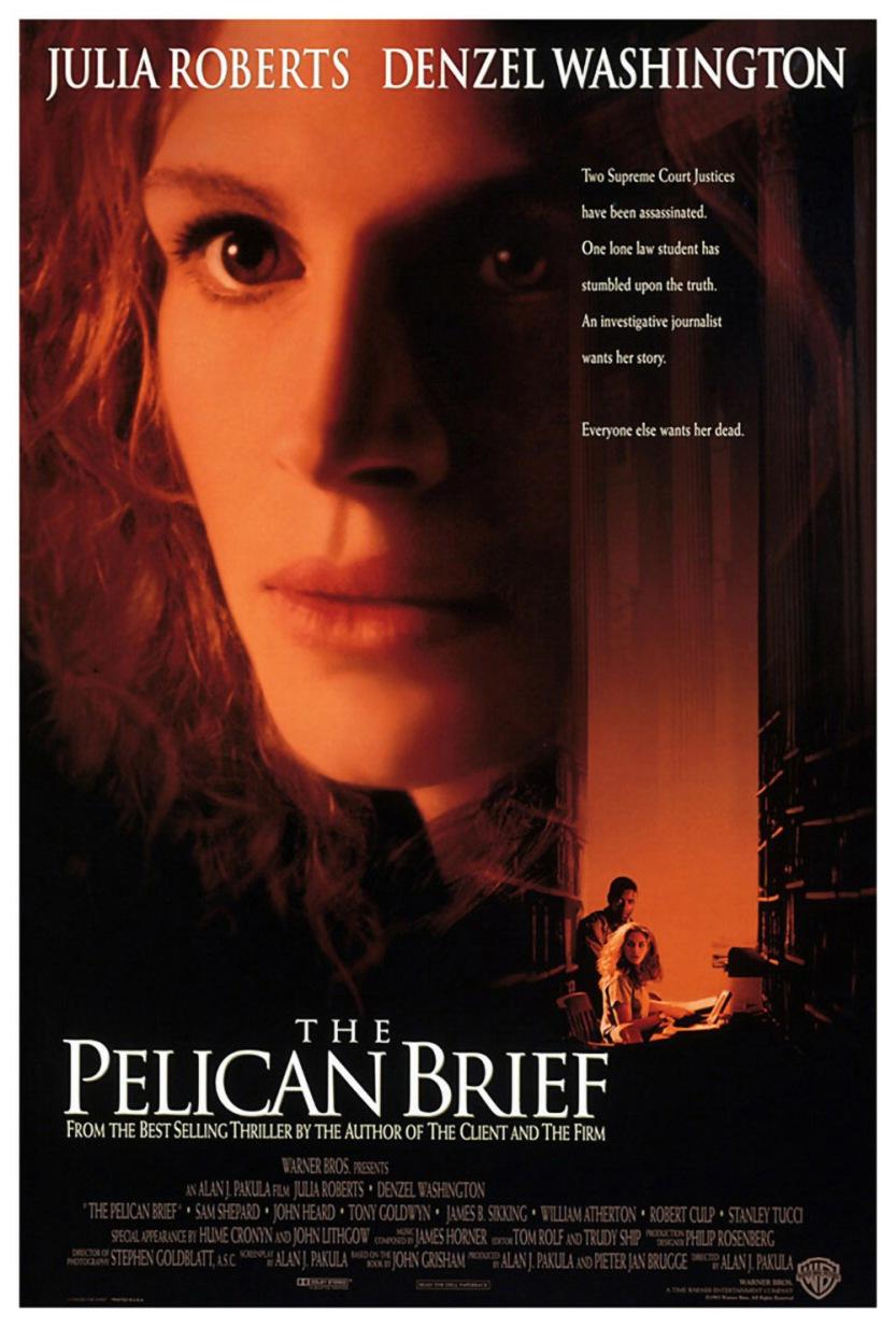 1993 El Informe Pelícano Cartel-000