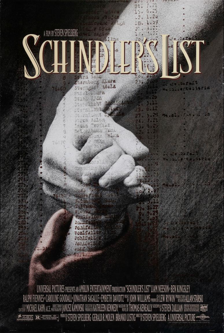 1993 la lista de schindler cartel-001