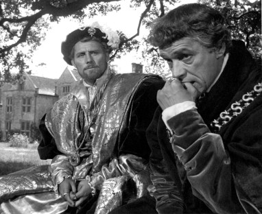 """""""A Man for All Seasons"""" starred Paul Scofield (right) as Sir Thomas More and Robert Shaw (left) as King Henry VIII. The film won six Academy Awards® including Best Picture. Restored by Nick & jane for Dr. Macro's High Quality Movie Scans Website: http:www.doctormacro.com. Enjoy!"""