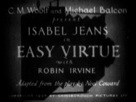 1928 Easy Virtue titulo-000