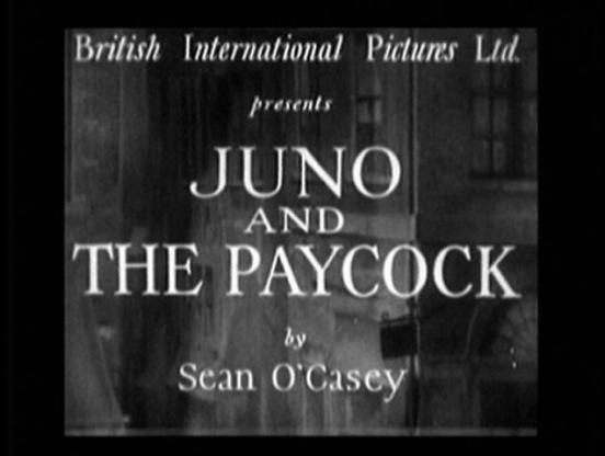 1930 Juno y el Pavo Real titulo-000