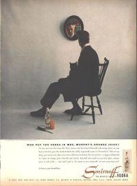 1955 Vincent Price Smirnoff