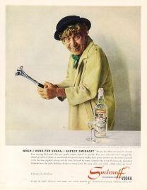 1961 Harpo Marx Smirnoff