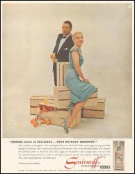 1961 Joan Fontaine Collier Young Smirnoff