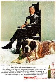 1966 Johnny Carson Smirnoff