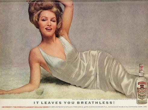 1966 Julie Newmar Smirnoff