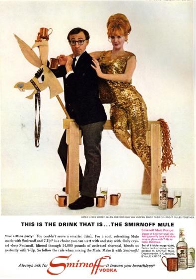 1966 Woody Allen Smirnoff 1