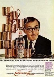 1966 Woody Allen Smirnoff 2