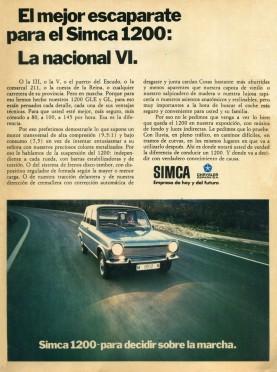 Chrysler Simca 1200